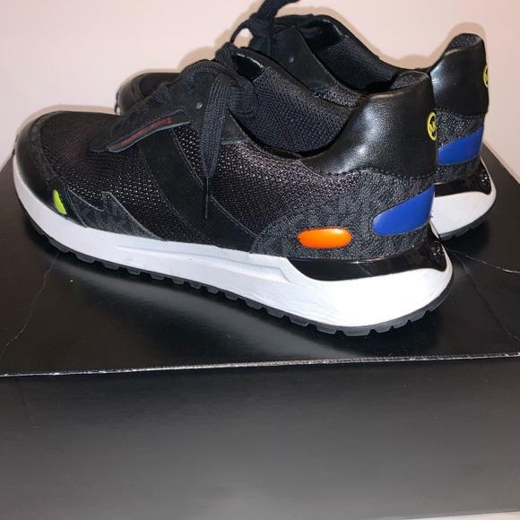 michael kors women's black sneakers